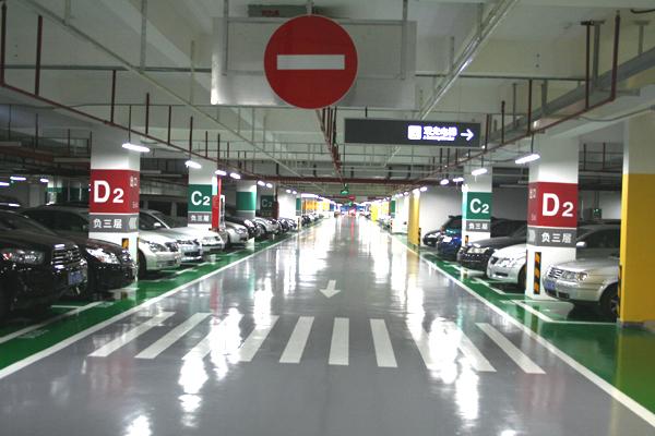 停车场过道宽度