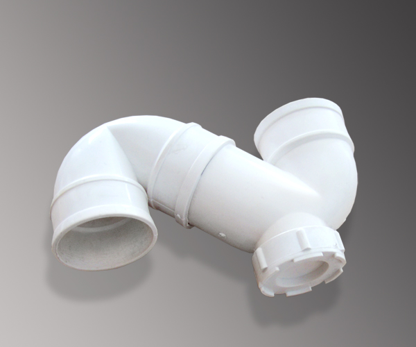 pvc管件 供应50存水弯排水pvc管件