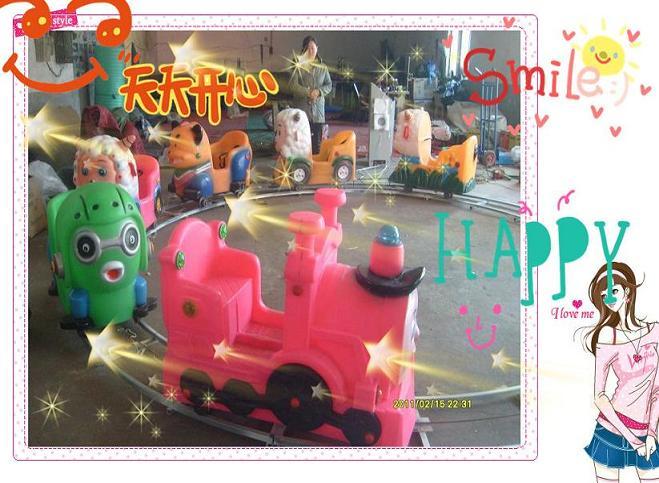 儿童轨道小火车,机器人拉车,动物电瓶车
