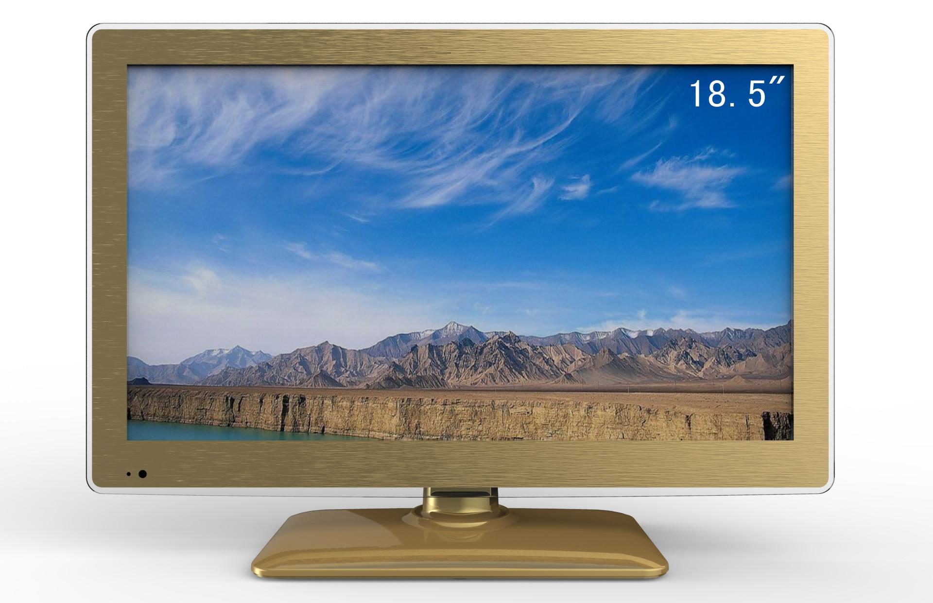 1、 面板显示尺寸:18.5寸,显示比例:16:9 面板边框有透明边 2、 此款外壳套料采用外销标准,采用优质环保材料制作,可通过多种安规认证。 3、 多彩、时尚、简洁、尊贵外型设计,是制作高档产品的首选。 4、 摆放方式: 台式/挂壁。 5、 多款底座选配,带DVD功能可选配,适应不同消费群体,更彰显个性风采。 6、 PC、AV、TV、DVI等功能一应俱全。 7、此款有15.