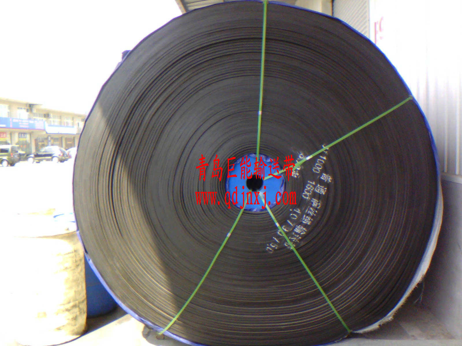 青岛巨能钢丝绳输送带
