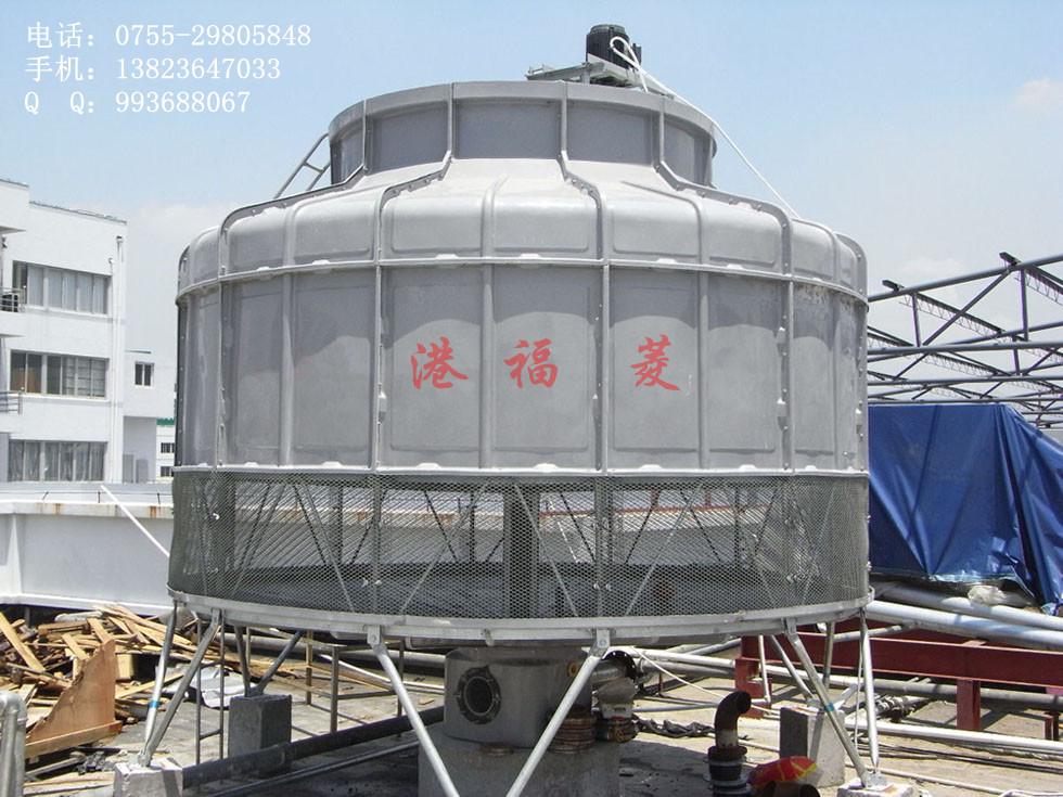 一座高146米的干式冷却塔