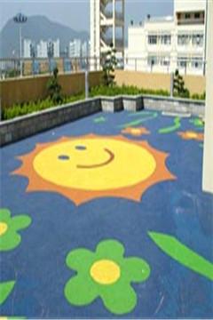 幼儿园塑胶地垫施工