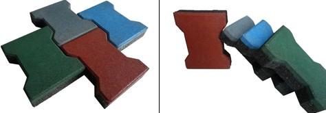 工字型橡胶地砖生产设备