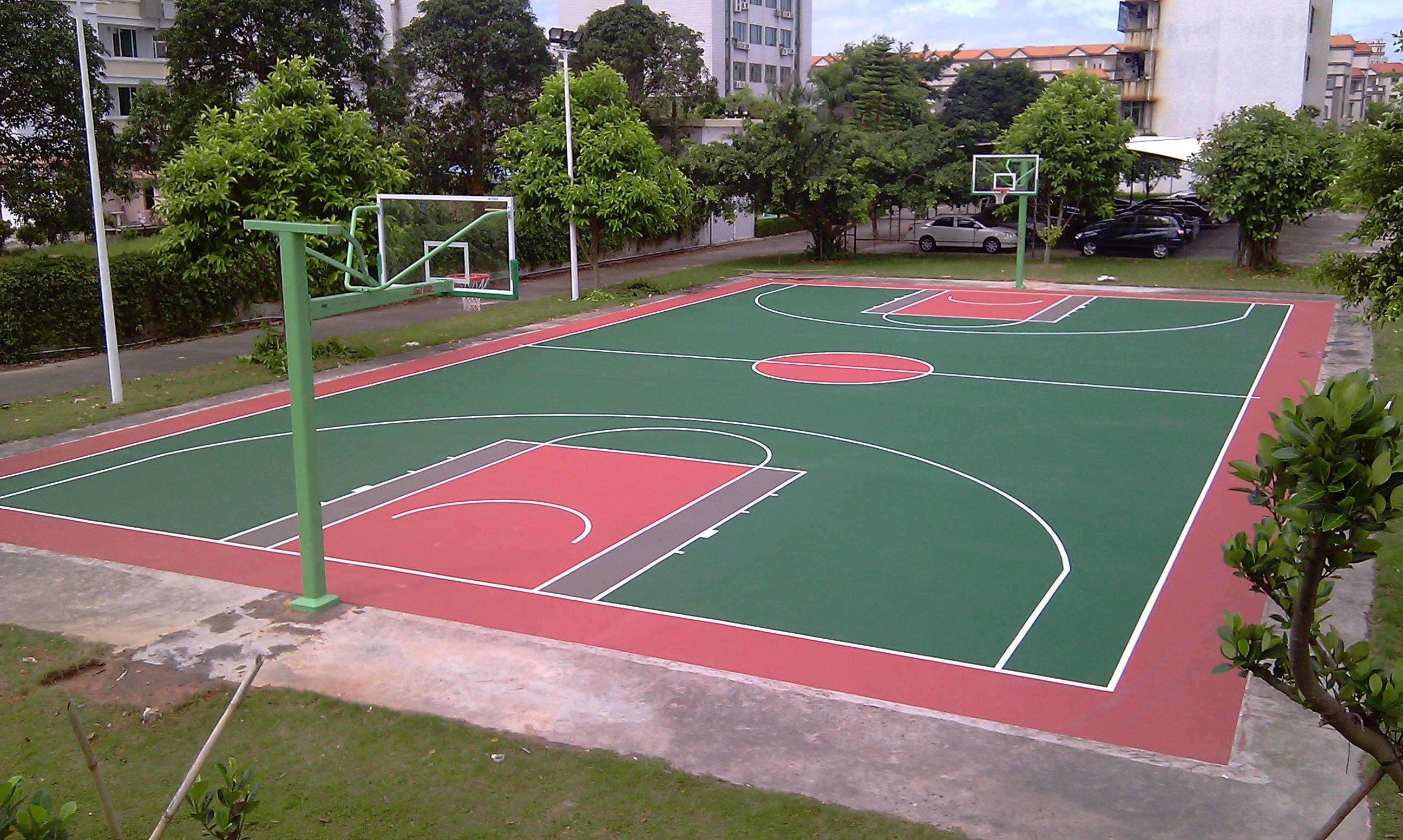 场_朔州塑胶篮球场施工\\材料生产公司