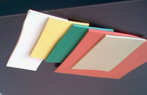 pvc彩色软板
