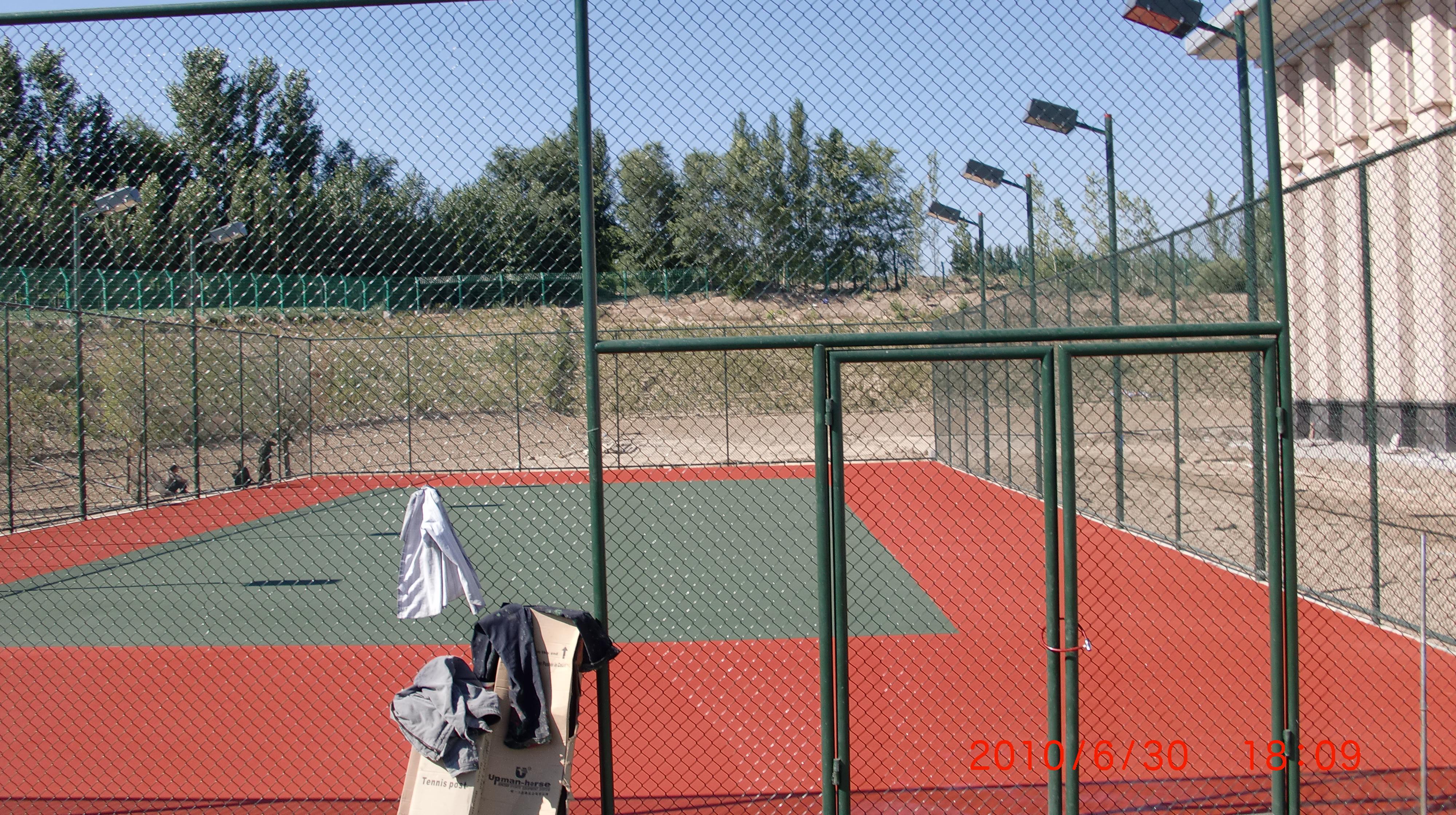 北京室内外网球场篮球场足球场排球场羽毛球场施工场