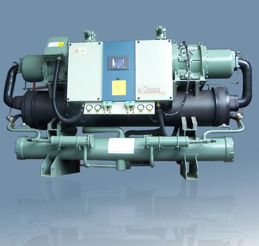 水冷螺杆冷水机组 - 产品展示 - 广州恒星冷冻机械