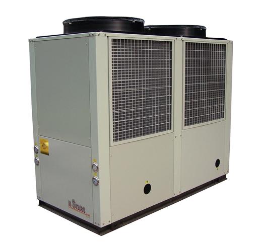 涡旋式风冷工业冷水机组 - 产品展示 - 广州恒星冷冻