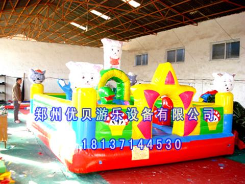 儿童室内玩具蹦蹦床/室内充气小城堡/大型儿童玩具
