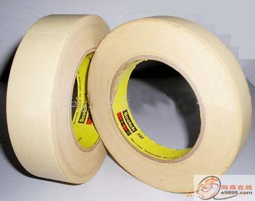 美纹纸高温胶带 印刷电路板高温胶带