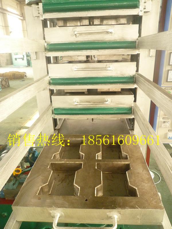 工字型橡胶地砖硫化机
