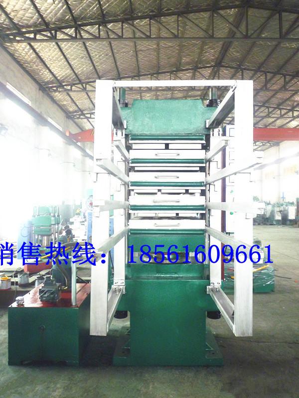 120吨橡胶地砖平板硫化机,胶粉地砖硫化机
