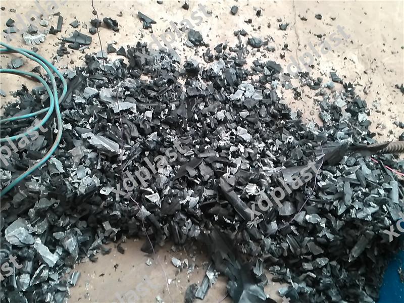 破碎的岩石素材
