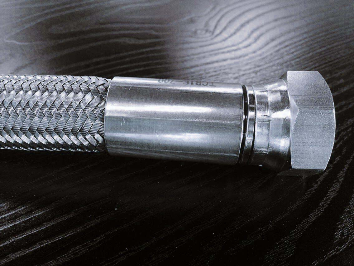 不锈钢编织光滑特氟龙管 ps-上海存简流体技术有限管