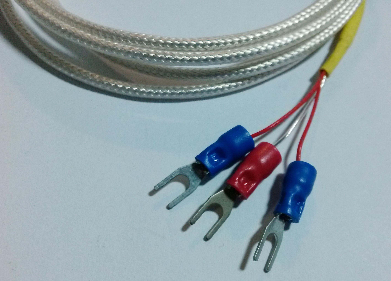 三线制pt100温度传感器不锈钢探头
