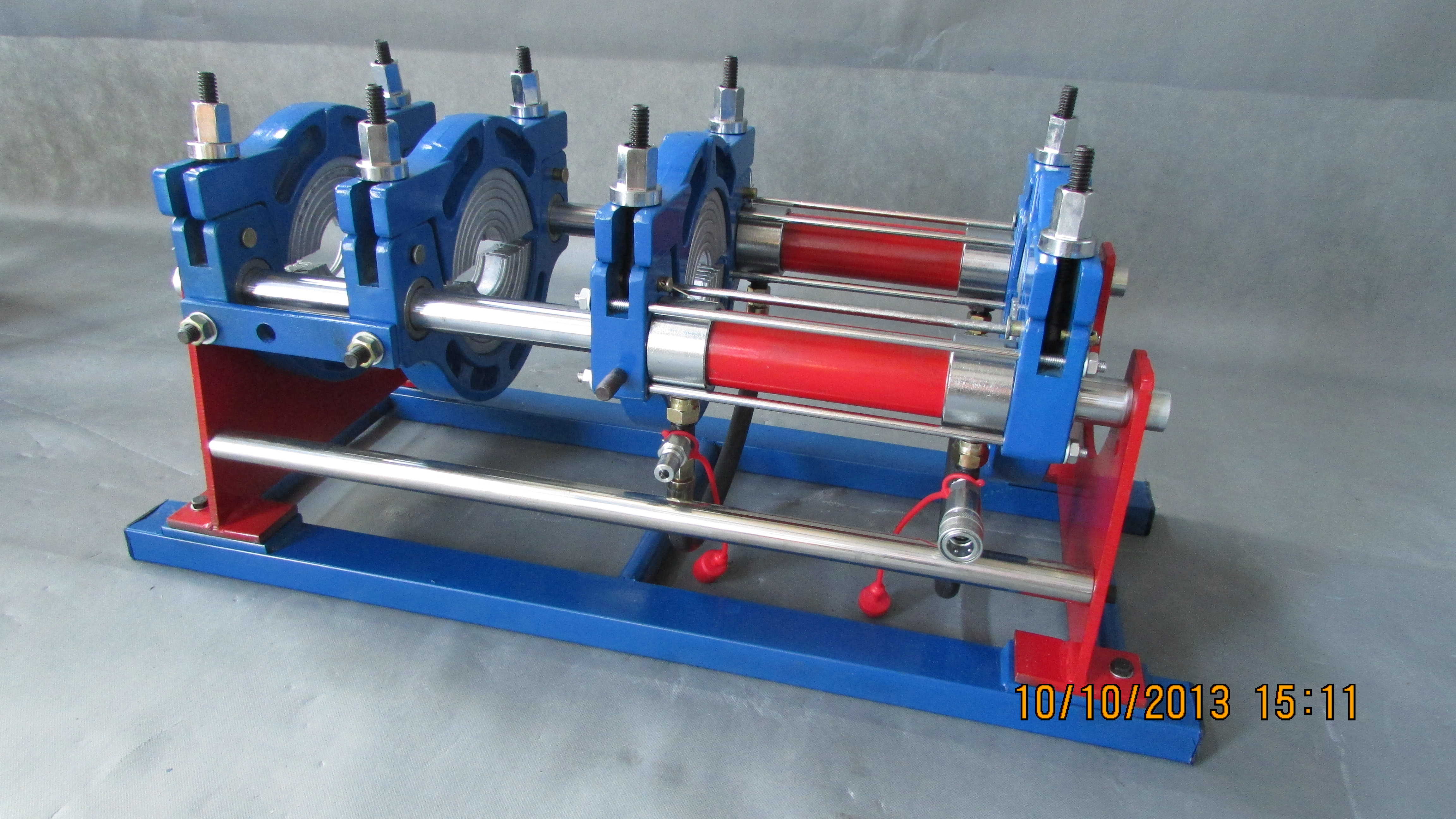 hjc160华锦160半自动热熔焊接机(pe,ppr管道焊接机)