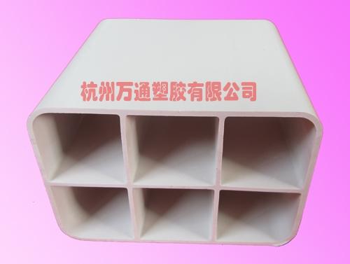 六孔栅格管,PVC栅格六孔管