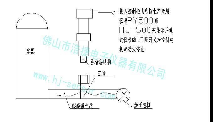 空压管微压力传感器