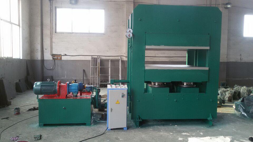 单柱塞_四柱塞两层热板框式硫化机500T 1500x1300尺寸