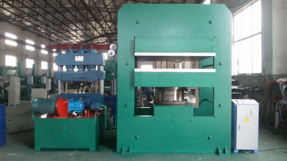 平板硫化机,800T平板硫化机,输送带硫化机