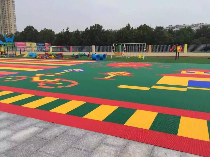 幼儿园户外运动绘画作品
