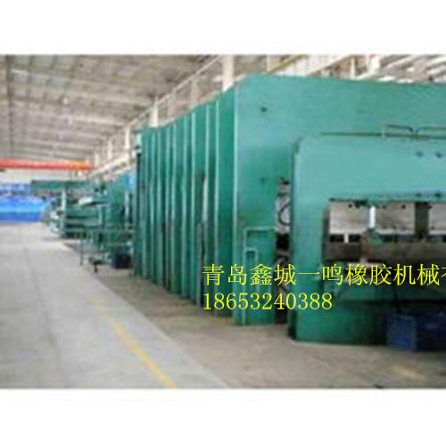 青岛鑫城框式平板硫化机,平板硫化机价格图片,框式硫化机输送带硫化机组