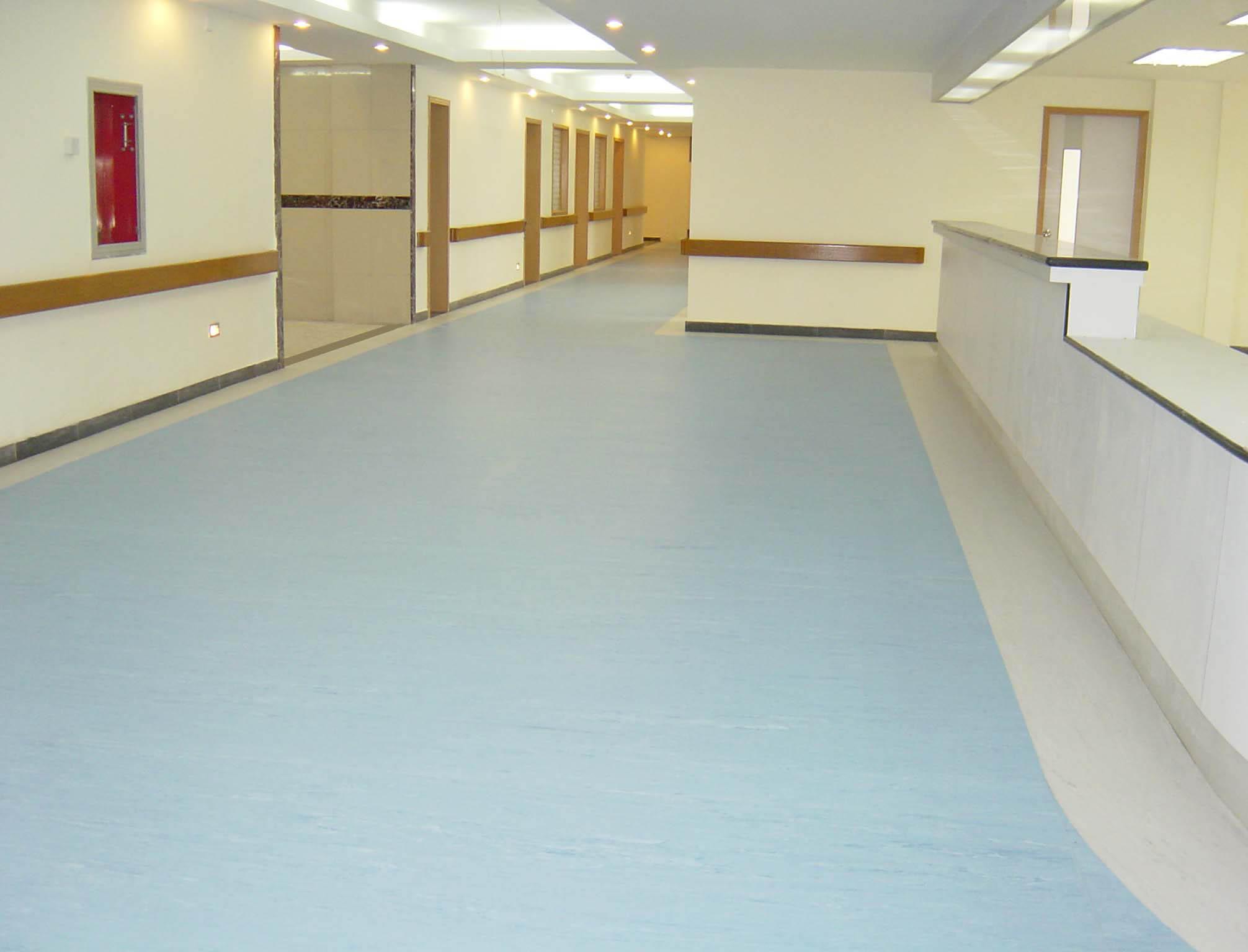PVC地板铺设
