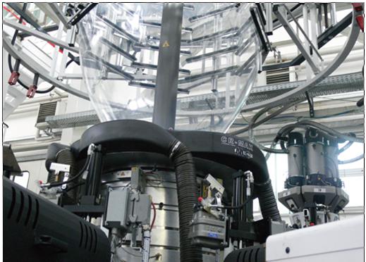 5层非阻隔聚烯烃专用(POD)吹膜机