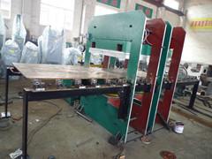 双边推拉橡胶平板硫化机 橡胶硫化机 框式两边可以同时推拉