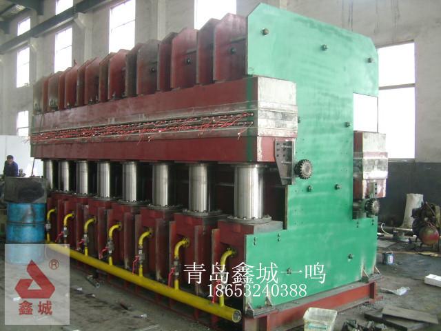 双鄂式全自动橡胶硫化机
