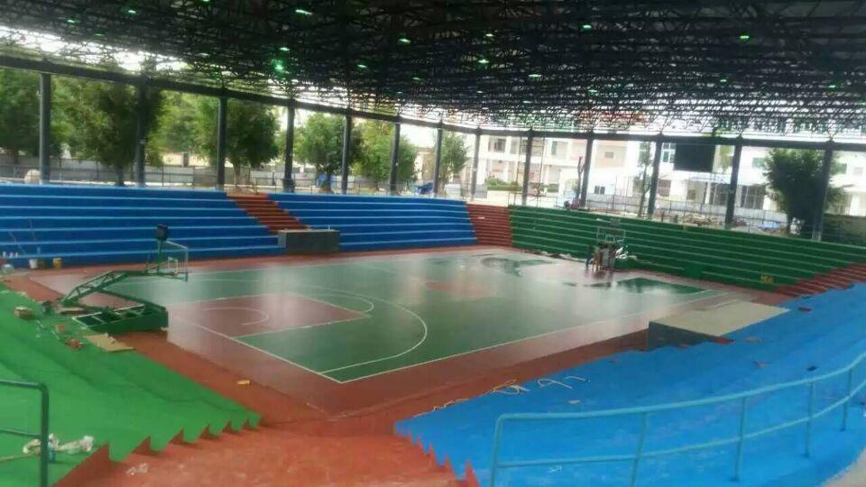 天津室内外篮球场地施工
