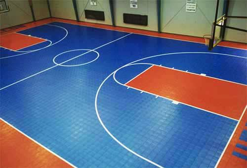 室内pvc塑胶运动地板销售施工