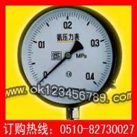 氨用压力表系列-耐震压力表|真空压力表|不锈钢压力表|电接点压力表