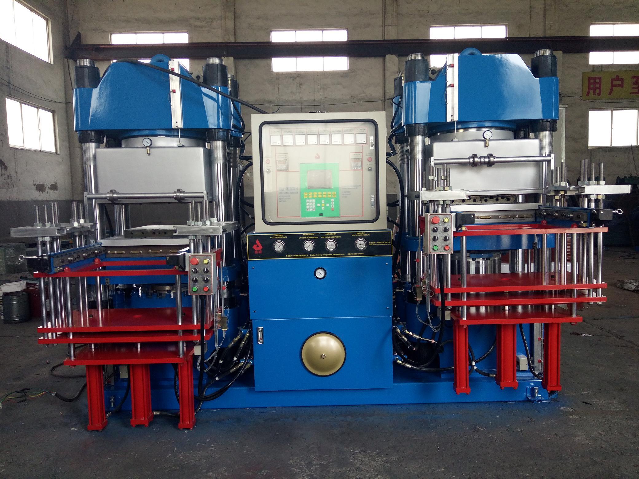 青岛鑫城一鸣VC真空成型机系列,抽真空平板硫化机,青岛唯一一家抽真空硫化机的厂家