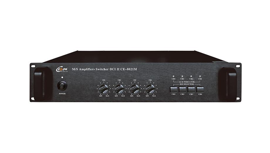 供应公共广播数字主备功放切换器CE-8021M