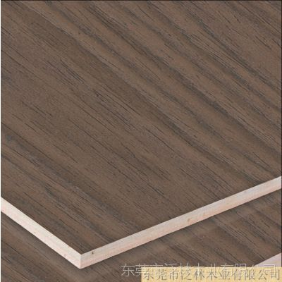 泛林 胡桃木皮饰面三合板8101 实木贴面 家具木饰面板