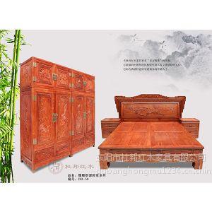 供应东阳红木家具杜邦红木家具卧房双人大床婚庆用品1.