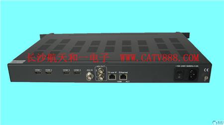 QAM调制器、网络视频编码器、酒店数字电视工作原理