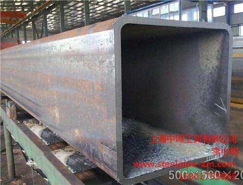 供应上海上海大口径方矩钢管重量直销中鸣供