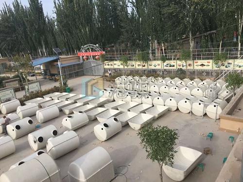 【脚踏式压力水桶】农村家用化粪池哪家好-港骐