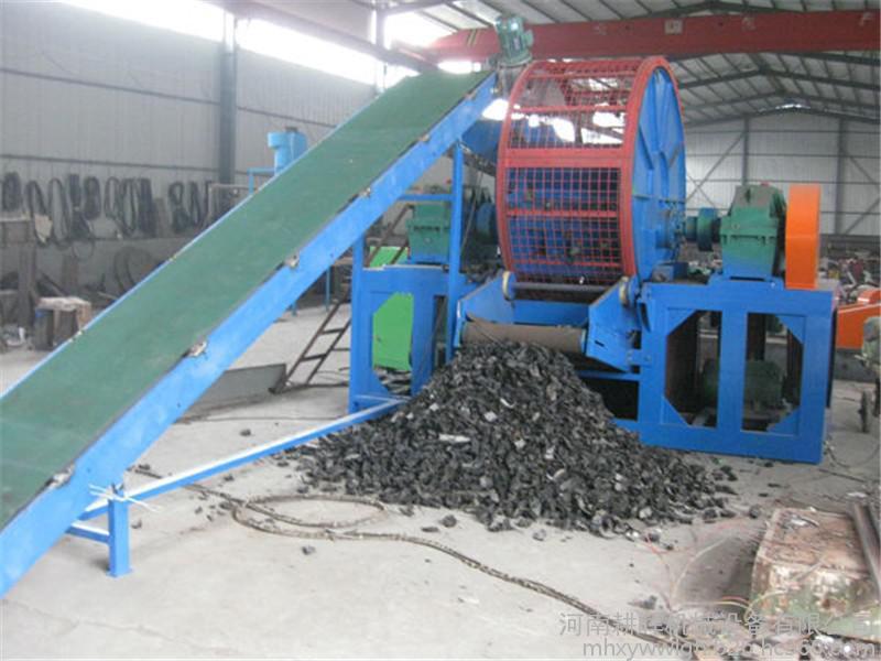 小汽车轮胎粉碎机生产厂家大卡车轮胎破碎机哪里买