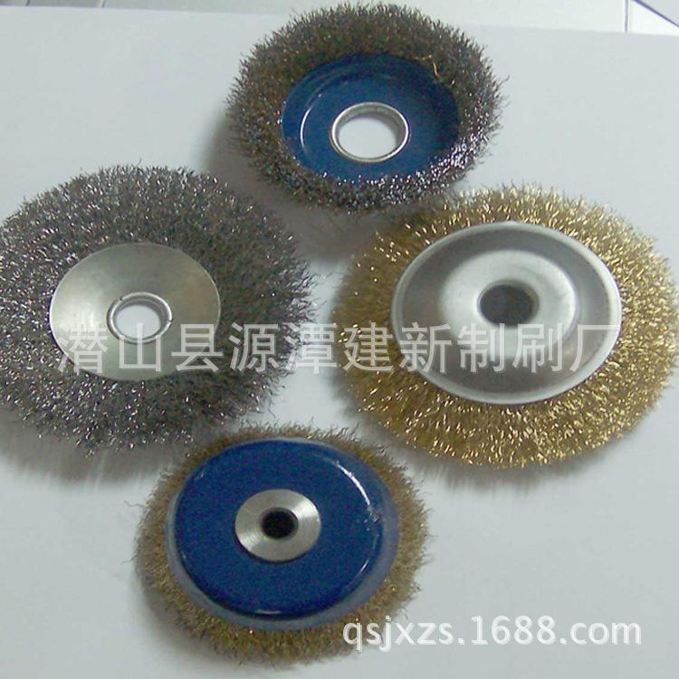 定型机钢丝刷轮 铝合金轮刷 钢丝轮 磨料丝轮 直销