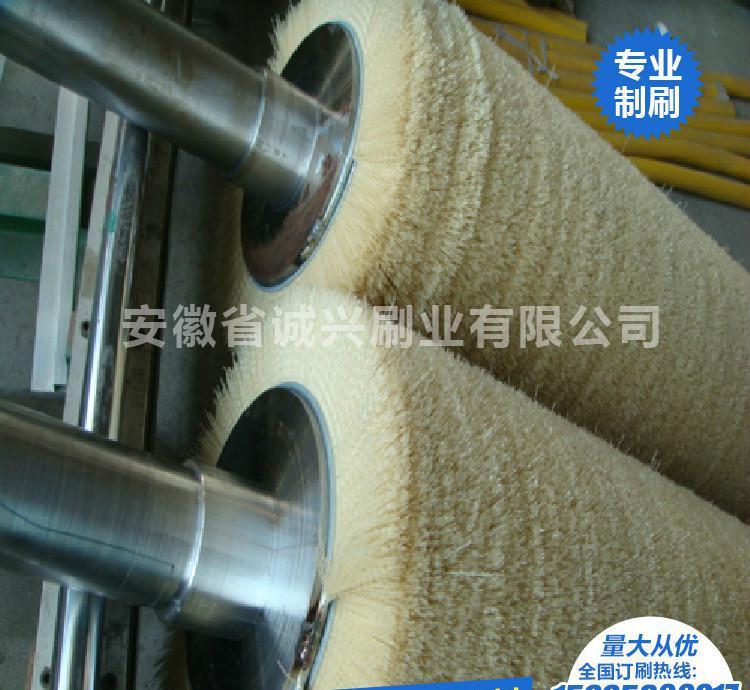 环形毛刷 静电毛刷辊毛刷辊 毛刷板 定型机毛刷轮