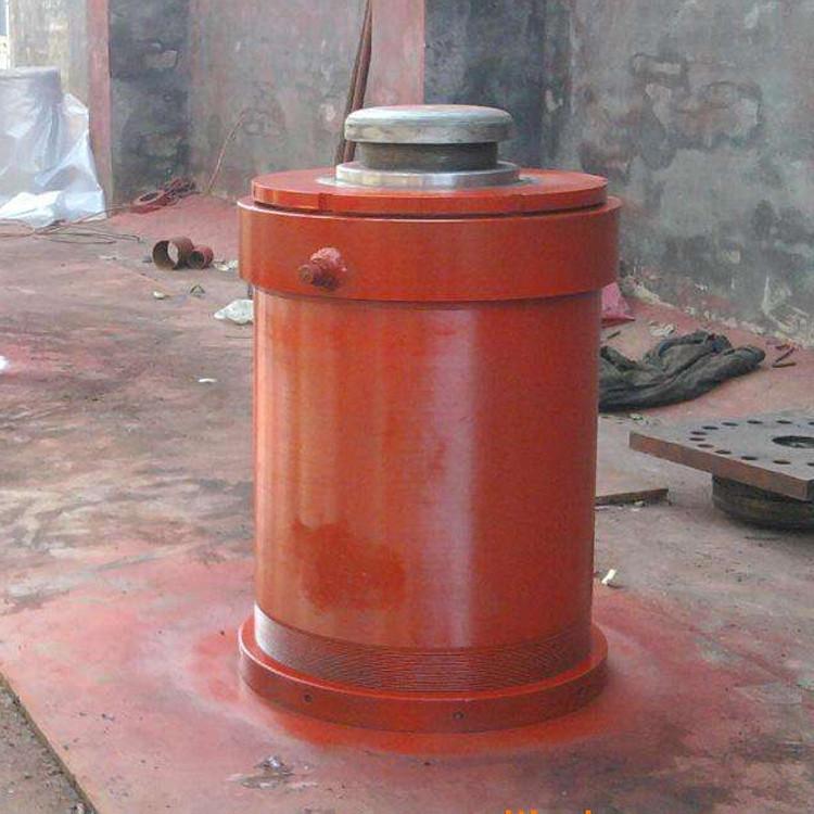 浩达 液压机械设备配套多规格伸缩式油缸 工程用前法兰式液压油缸