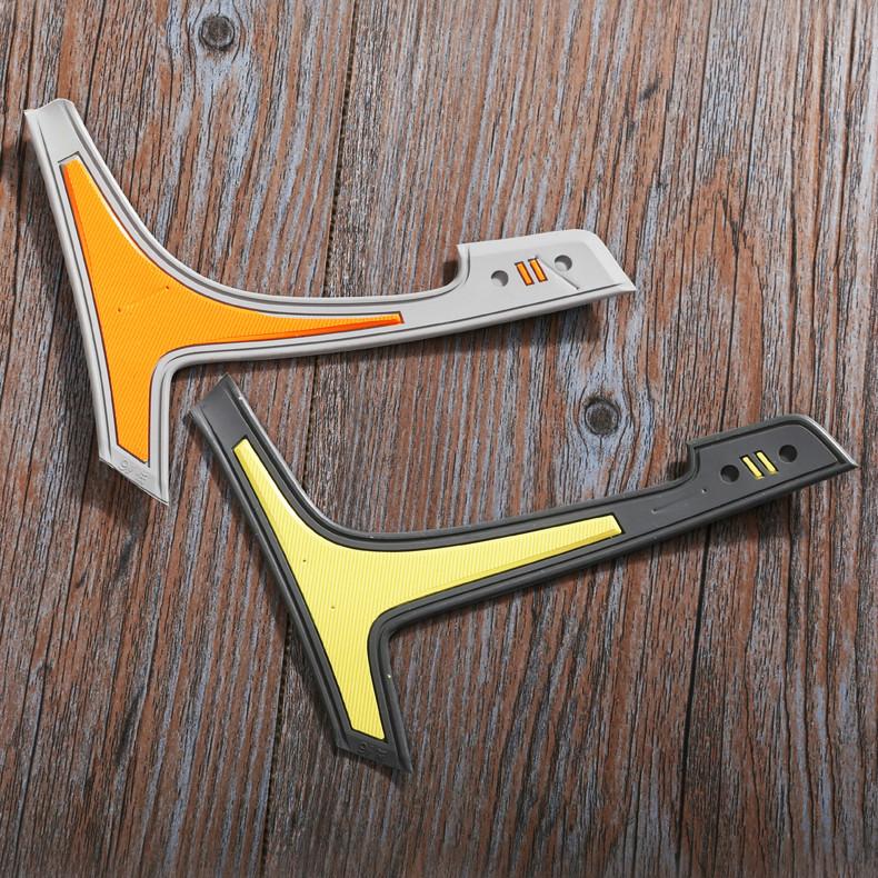 厂家批发供应 XS13  AON-F16-43 鞋材外腰 饰条 饰片