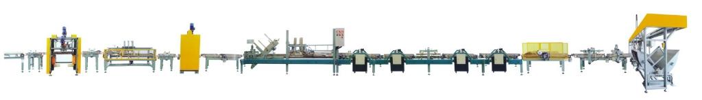 瓷砖全自动包装生产线连线 瓷砖加工设备