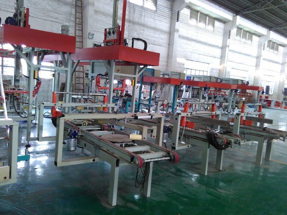 瓷砖加工机械/800*800 瓷砖全自动包装生产线连线