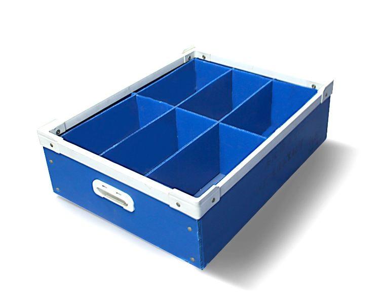 中空板周转箱 中空板注塑箱 塑料包装箱