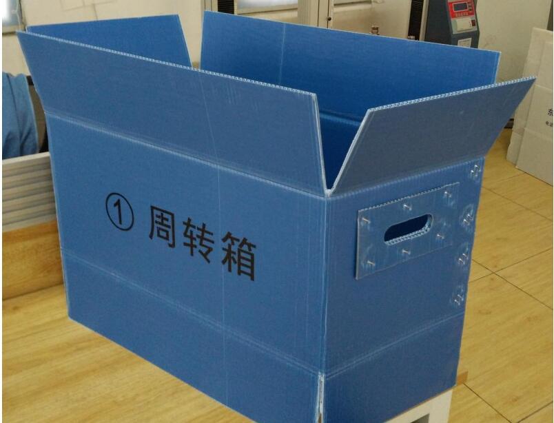 钙塑箱 中空板箱 塑料周转箱